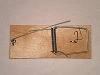 Мышеловка плоская деревянная