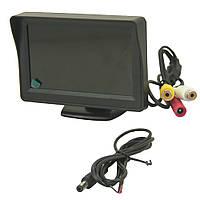 Купить оптом Автомобильный дисплей (экран, LCD) 4.3'' с возможностью подключения двух камер