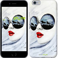"Чехол на iPhone 6 Девушка акварелью ""2829c-45"""