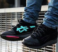 Мужские кроссовки Solefly x Asics Gel Lyte III Black