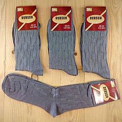 Носки мужские супер качество демисезонные шёлк  DURSUN Турция  40-43 размер НМП-23113