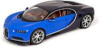 Автомодель 1:24 Bugatti Chiron синий металлик Maisto (31514 met. blue), фото 1