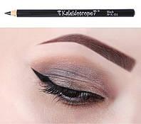 Kaleidoscope® by EL Corazon®  карандаш для глаз Каял №К-01 Black (черный)
