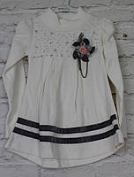 Платье трикотажное для девочки цвета 4-10 лет