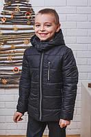 Куртка для мальчика с капюшоном зима.