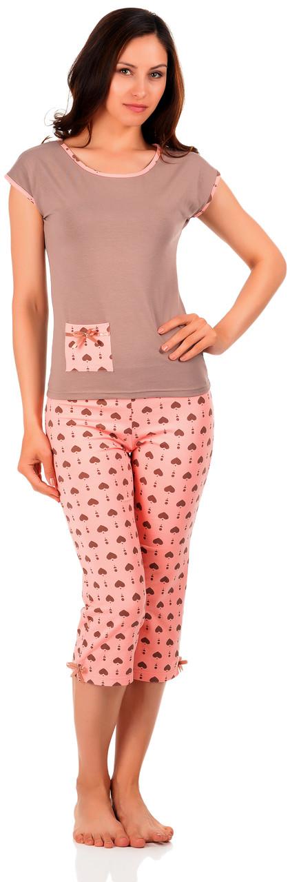 Домашній костюм / піжама (футболка і бриджі) 0148/130