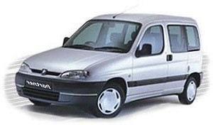 Шторы Peugeot Partner / Пежо Партнер 1996-2002