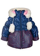 Курточка зимняя для маленьких девочек, фото 2