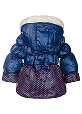 Курточка зимняя для маленьких девочек, фото 3