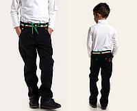 """Детские утеплённые стильные брюки на флисе 8822 """"Italyano"""" в расцветках"""