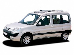 Шторы Peugeot Partner / Пежо Партнер 2002-2008