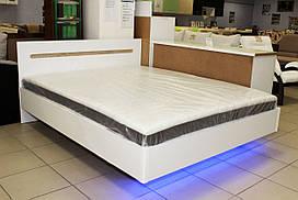 Кровать 2-х спальная с подсветкой