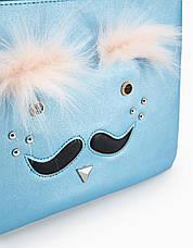 """Клатч Stradivarius """"Усы"""" - женская сумочка - кошелек, сумочки женские, фото 2"""