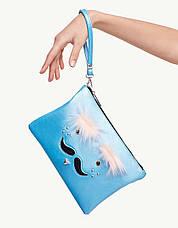"""Клатч Stradivarius """"Усы"""" - женская сумочка - кошелек, сумочки женские, фото 3"""
