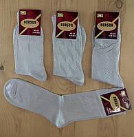 Носки мужские супер качество демисезонные шёлк  DURSUN Турция  40-43 размер светло серые НМП-116
