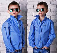 """Детская подростковая стильная рубашка 828 """"D&G"""""""