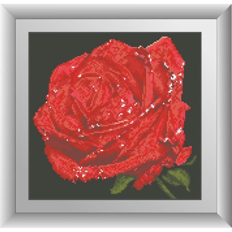 "Набор для рисования камнями ""Красная роза"""