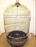 """Круглая клетка золотая 330Gold (DIVA) Ф40хh70 см """"золото"""".Золотая клетка"""