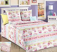 Постельное белье для малышей в кроватку бязь Агата