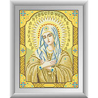 """Набор алмазной живописи """"Икона Божьей матери Умиление"""""""