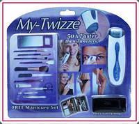 Эпилятор My-Twizze + Набор для маникюра и макияжа