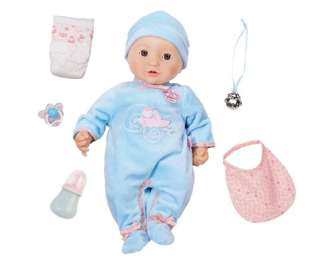 Интерактивная кукла Baby Annabell Brother Doll брат Аннабель 46 см с  аксессуарами и озвучкой оригинал - 76d3bfeca43dd