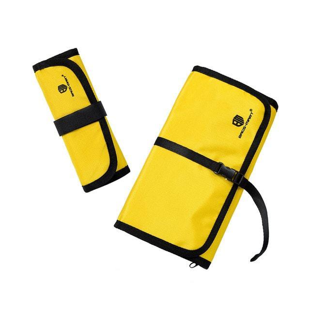 Размеры набора органайзеров для гаджетов желтый два