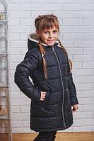 Пальто для девочки на синтепоне
