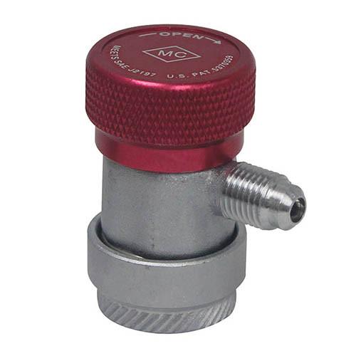 Быстросъемный клапан с вентелем HP R134a (Mastercool, США)