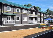 Строительство многоквартирного дома из клееного бруса