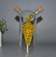 """Соусник с двойными стенками """"Виноград с лепестком"""" для масла уксуса соевого соус подарок на 8 марта для женщин"""