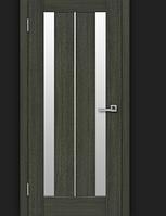 Двери ламинированные ПВХ Стелла стекло сатин Венге