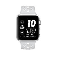 Apple Watch Nike+ 38mm Silver Aluminum Case With Pure Platinum/White Nike Sport Band