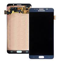 Дисплей в сборе с сенсорной панелью Black (GH97-17755B) для смартфона Samsung Galaxy Note 5 SM-N920C