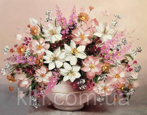 Алмазная вышивка без коробки MyArt Сладкий аромат цветов 40 х 30 см (арт. MA623)