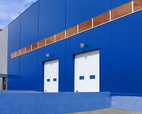 Ворота промышленные «Алютех»