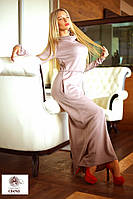 """Элегантное длинное женское платье """"Ангора Хомут Макси"""" в расцветках"""
