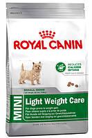 Корм для мини-собак склонных к ожирению Royal Canin Mini Light Weight Care
