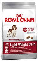 Корм для собак склонных к полноте Royal Canin Medium Light Weight Care