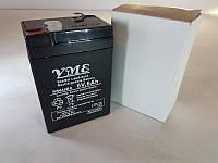 Аккумулятор YME RB640BS 6v 6Ah t4