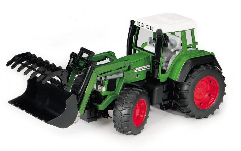 """Трактор Fendt Favorit 926 Vario с погрузчиком М1:16 Bruder (02062) - Интернет-магазин игрушек """"Parktoys-парк игрушек"""" в Днепре"""
