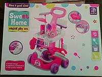 Игровой набор для уборки 5938-51(A 5938) С пылесосом на колесах