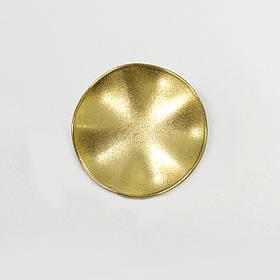 Пуговица Lux D 26 мм (золото) Италия