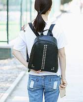 Повседневный городской рюкзак с заклепками, фото 3