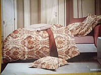 Комплект постельного белья 3Д египетский хлопок