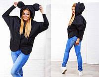 """Женская стильная куртка на синтепоне """"Микки Летучая Мышь"""""""