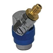 Быстросъемный клапан с вентелем LP R134a (Mastercool, США)