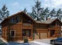 Строительство многоквартирного дома из профилированного бруса