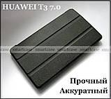 Черный чехол на Huawei Mediapad T3 7 Wi-Fi (BG2-W09), чехол книжка TFC эко кожа, фото 2