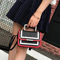 Fashin сумка-клатч с металлическими ручками, фото 2